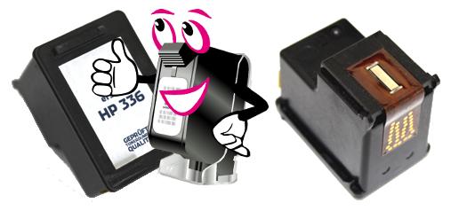 recycelte Druckerpatronen mit Druckkopf vom tintenmarkt