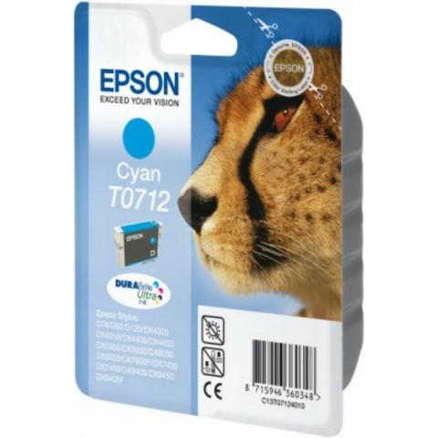 Epson C13T07124011 Tintenpatrone mit 5, 5 ml