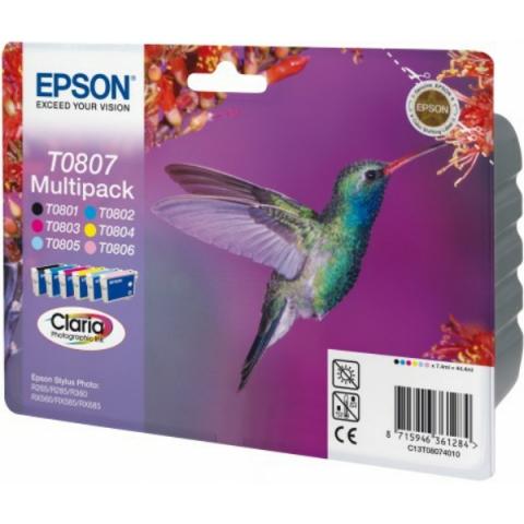 Epson T08074010 Druckerpatronen im Multipack
