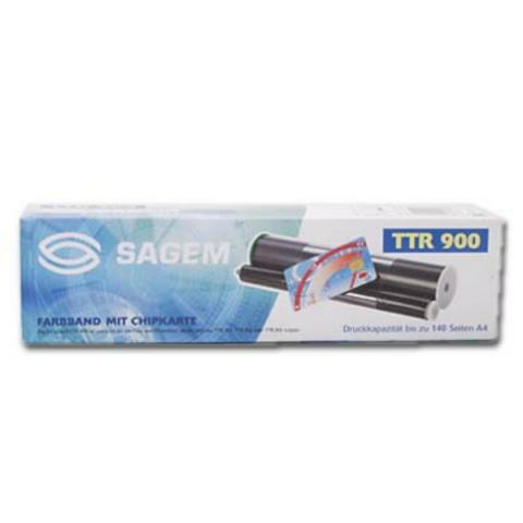 Sagem Thermo-Transfer-Rolle mit Chip, für ca.