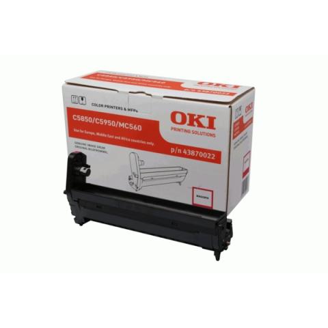 OKI 43870022 Bildtrommel , Drum Kit für C5850