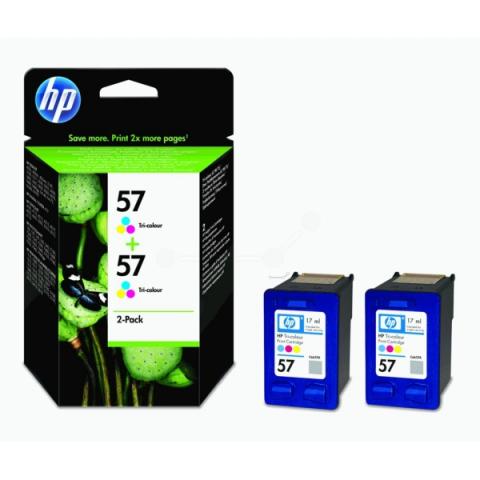 HP C9503AE Doppelpack HP57 mit 2 x 17ml für HP