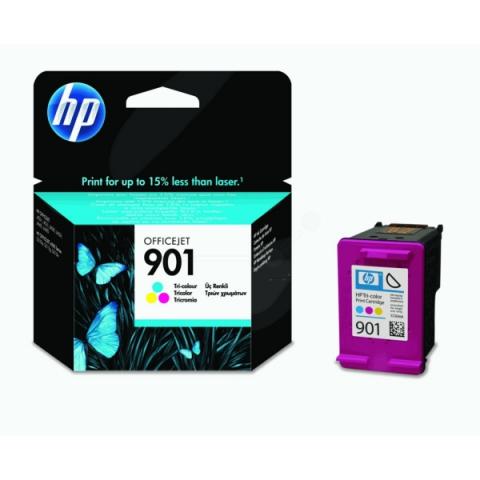 HP CC656AE Druckerpatrone mit Druckkopf HP 901,