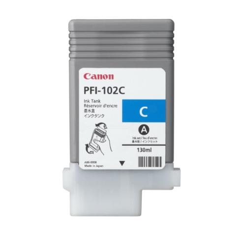 Canon PFI102C Tintenpatrone 0896 B 001 , PFI-102