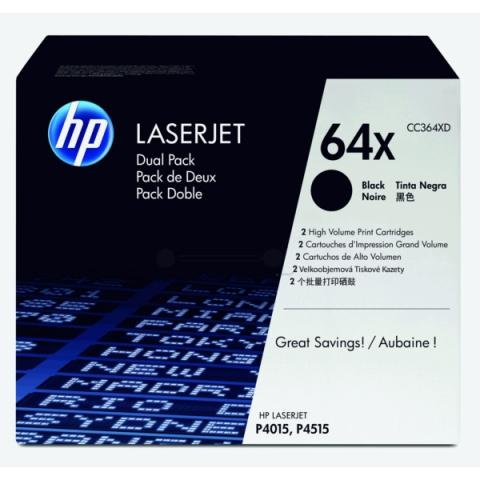 HP CC364XD Toner im Doppelpack für LaserJet