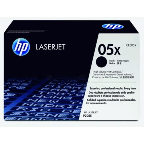 HP CE505X Toner original HP ca 6.500 Seiten,