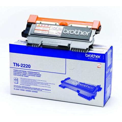 Brother TN-2220 Toner für für ca. 2.600 Seiten