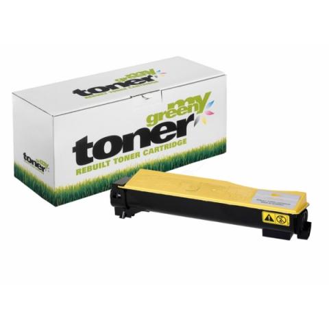 My Green Toner Rebuild Toner ersetzt TK- 540Y