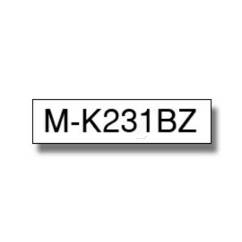 Brother MK231BZ BROTHER P-TOUCH 12mm W-B