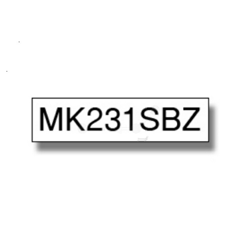 Brother MK231SBZ BROTHER P-TOUCH12mm W-B