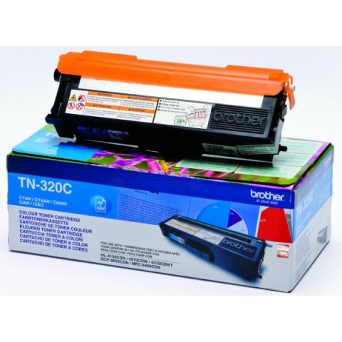 Brother TN-320C Toner für für ca. 1500 Seiten