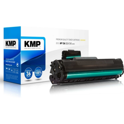 KMP Recycling Toner in XXL kompatibel mit Q2612X