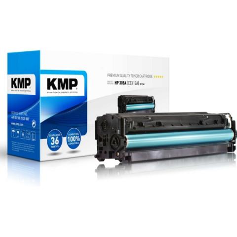 KMP Toner, ersetzt HP 305A ( CE412A ) für ca.