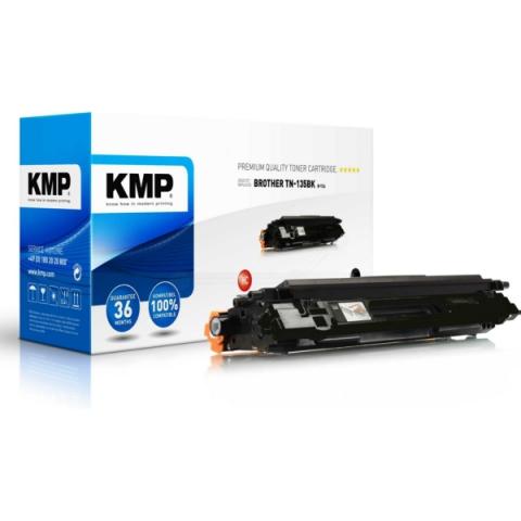 KMP B-T24 Toner, ersetzt TN-130BK für Brother