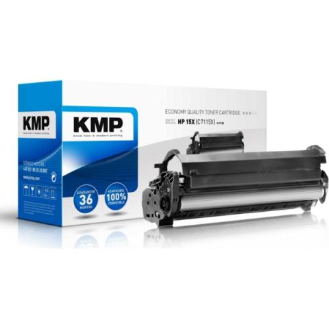 KMP Toner (Rebuild) für ca. 3.500 Seiten für HP