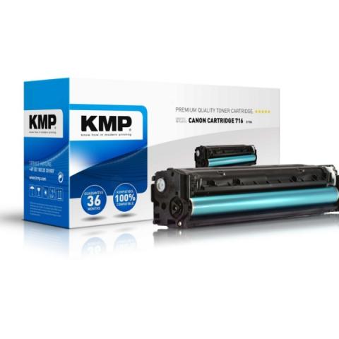 KMP Toner, recycelts Originalprodukt für Canon,