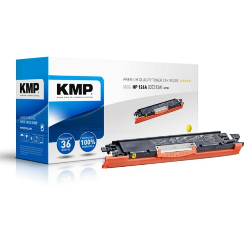 KMP Toner für HP kompatibel mit HP 126A (CE312A)