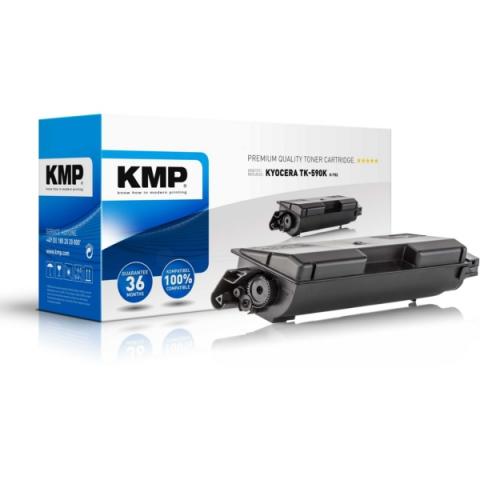KMP Toner, ersetzt Kyocera TK-590K recycelter