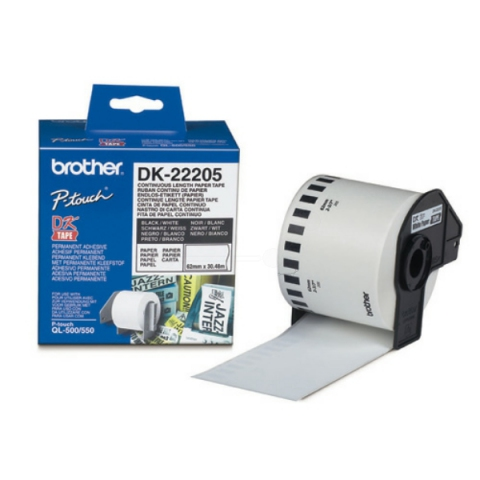 Brother DK22205 BROTHER P-TOUCH QL550 PAPER 30,