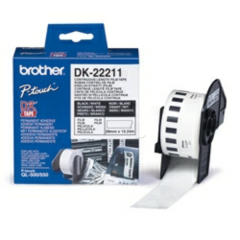 Brother DK22211 BROTHER P-TOUCH QL550 FILM 15,