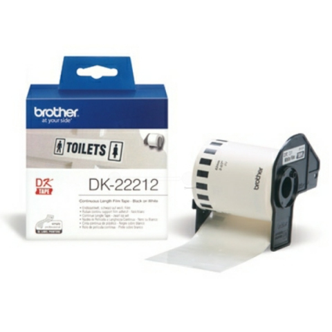 Brother DK22212 BROTHER P-TOUCH QL550 FILM 15,