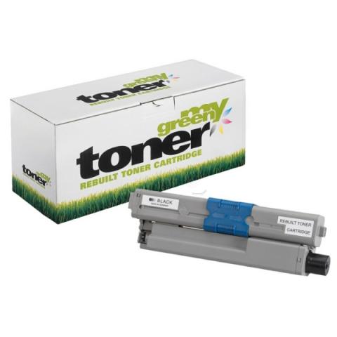 My Green Toner Toner, ersetzt 44469803 für Oki C