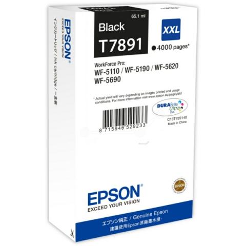Epson C13T789140 Tintenpatrone XXL mit 65, 1 ml