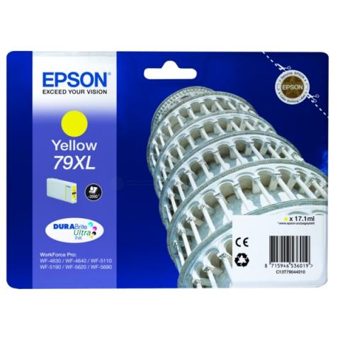 Epson C13T79044010 Tintenpatrone XL mit 17, 1 ml