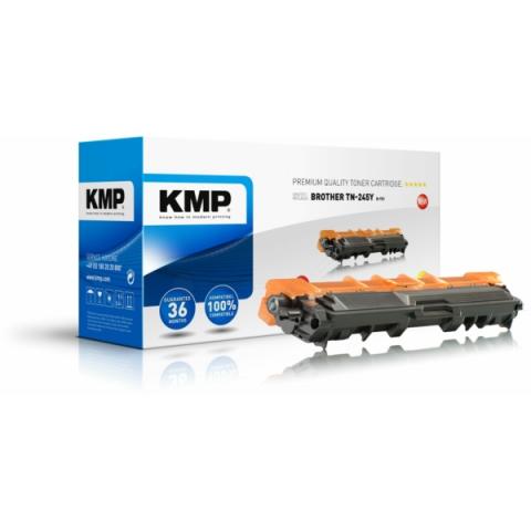 KMP Toner, rebuild, ersetzt TN-241Y für Brother