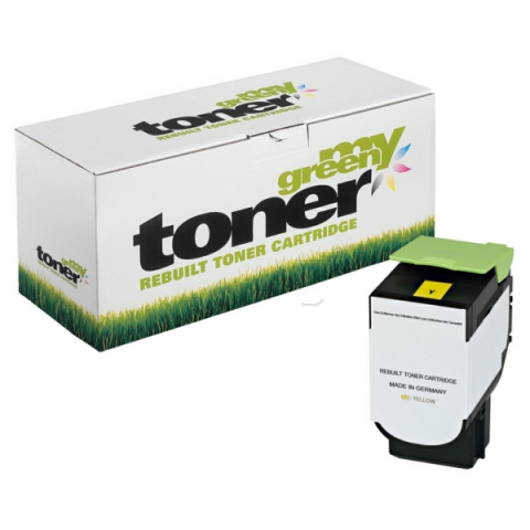 My Green Toner Toner ersetzt 80C2HY0, passend