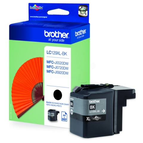 Brother LC129XLBK original Druckerpatrone,