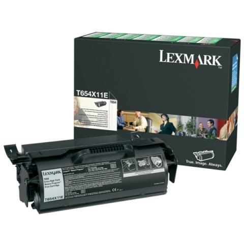 Lexmark 0T654X11E Toner für ca. 36.000 Seiten