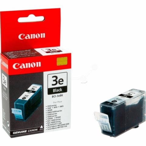 Canon BCI-3eBk Tintenpatrone mit 26 ml Inhalt,