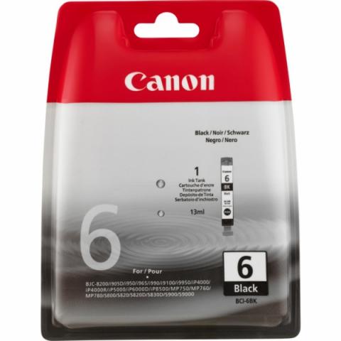 Canon BCI-6Bk original Druckerpatrone von für
