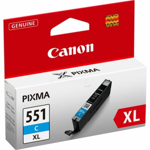 Canon CLI-551CXL Tintenpatrone mit 11 ml Inhalt,