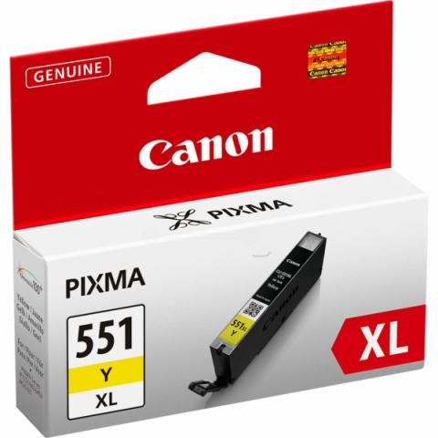 Canon CLI-551YXL Tintenpatrone mit 11 ml Inhalt,