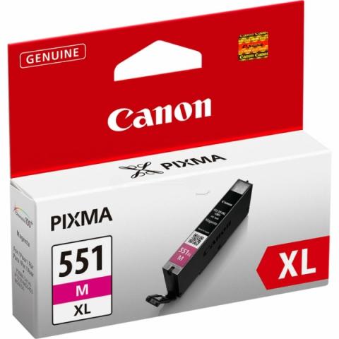 Canon CLI-551MXL Tintenpatrone mit 11 ml Inhalt,