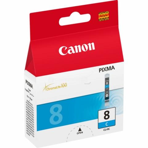 Canon CLI-8C Druckerpatrone mit 13ml ChromaLife