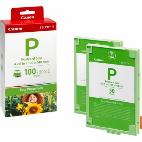 Canon Foto Pack + Tinte, EP100, 100 Blatt 10 x