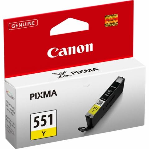Canon CLI-551Y Tintenpatrone mit 7 ml Inhalt,