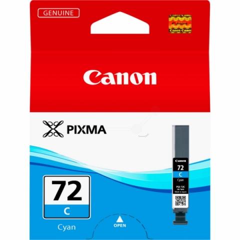 Canon PGI-72C Tintenpatrone mit 14 ml Inhalt,