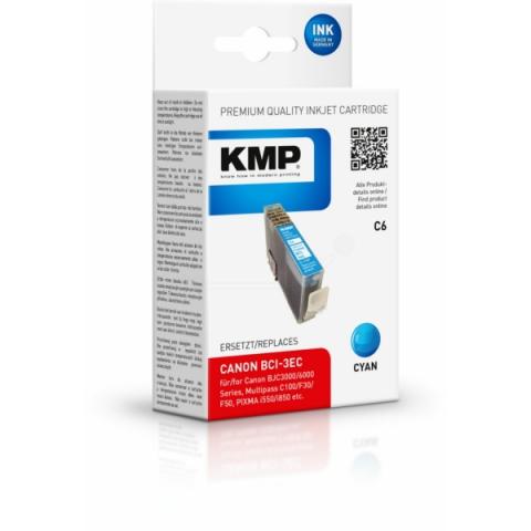 KMP Druckerpatrone ersetzt Canon BCI-3eC mit 17