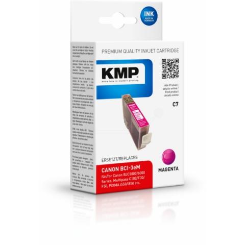 KMP Druckerpatrone ersetzt Canon BCI-3eM, mit 17