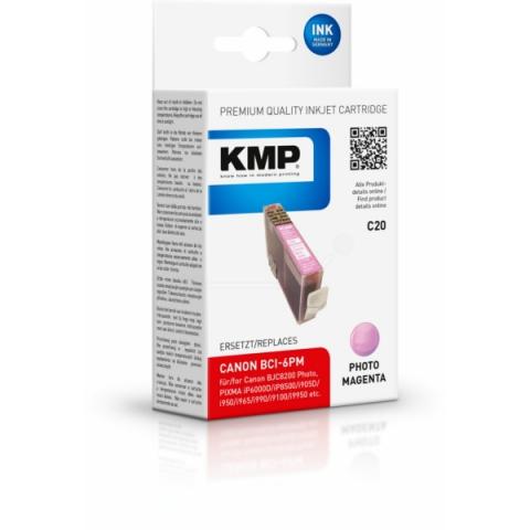 KMP Druckerpatrone ersetzt Canon BCI-6PM mit 17