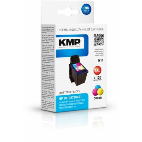 KMP Refilled Druckerpatrone für HP Deskjet 3320