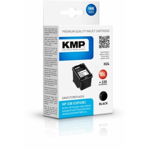 KMP Druckerpatrone mit 25, 5ml für HP Officejet