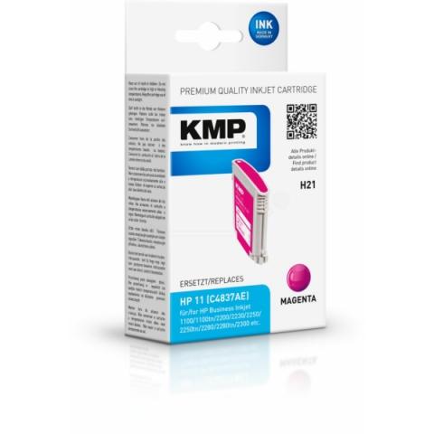 KMP Druckerpatrone ersetzt HP C4837A mit 28ml