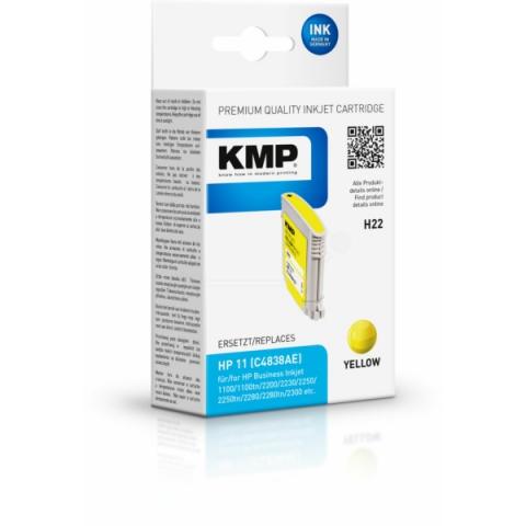 KMP Druckerpatrone ersetzt HP C4838A mit 28ml