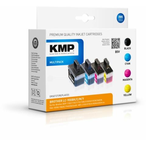 KMP Kompatible Druckerpatronen ersetzen