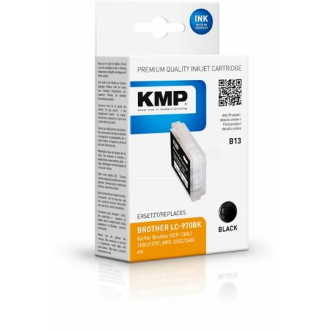 KMP Druckerpatrone ersetzt Brother LC-970BK mit
